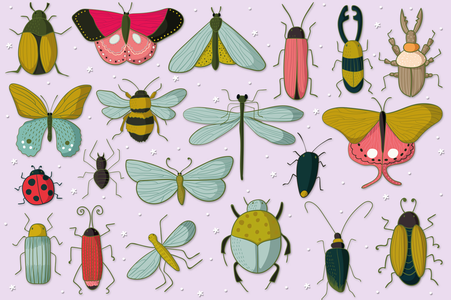 Insects and Bugs example image 2