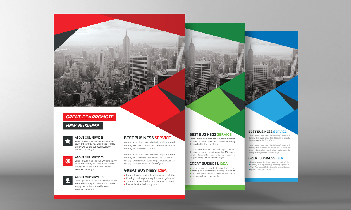 Shape Business Flyer example image 2