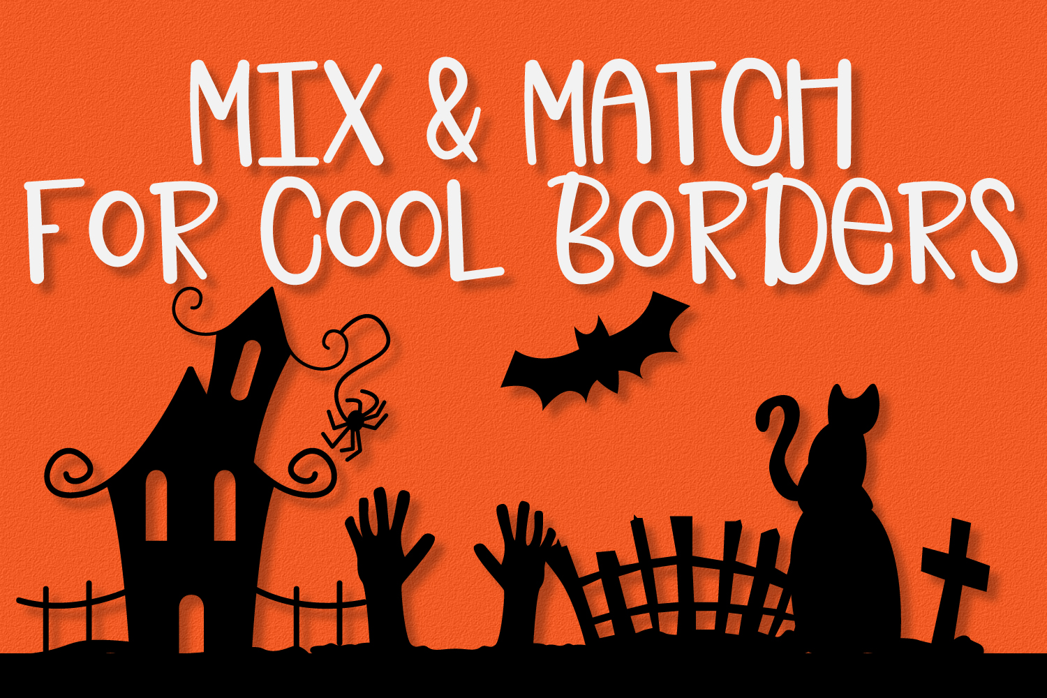Spooky Squad - A Halloween Dingbat Font example image 4