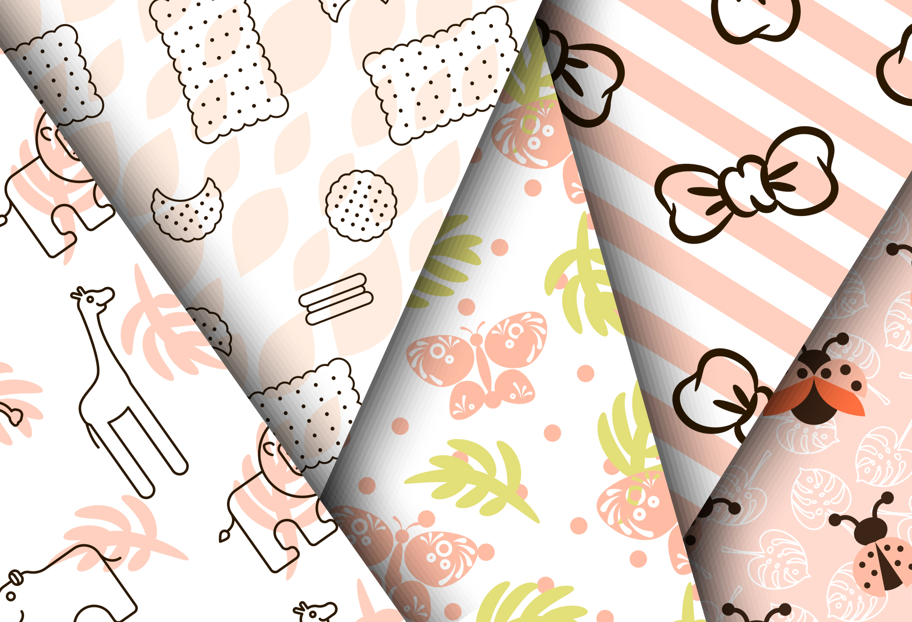 Baby Girl Cute Patterns example image 2