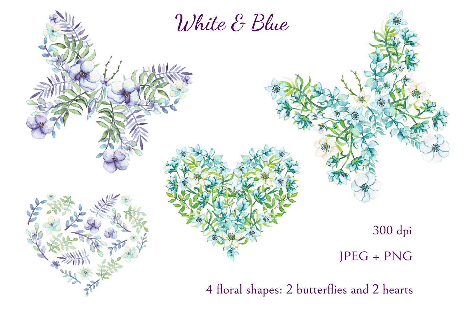 White and Blue example image 6
