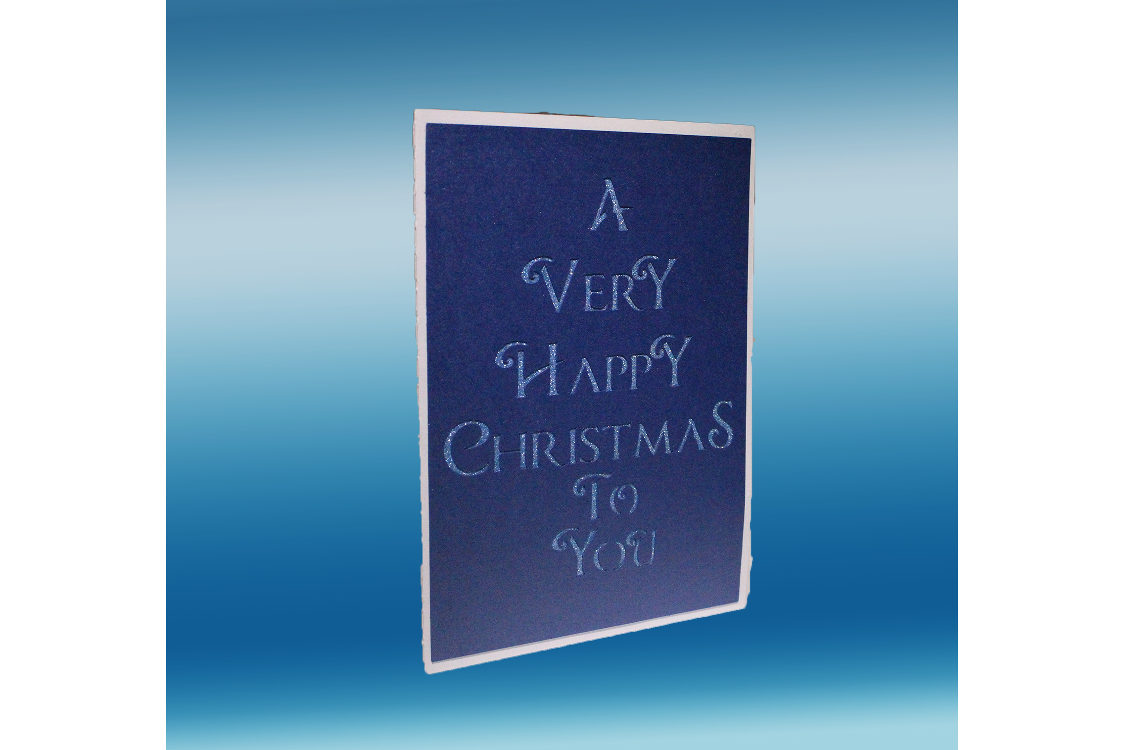 Silent night pop up card example image 2