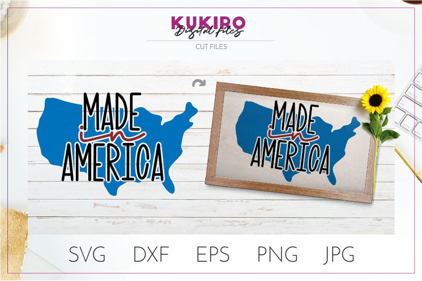4th of July Bundle SVG - Big Patriotic Cut files Bundle example image 14
