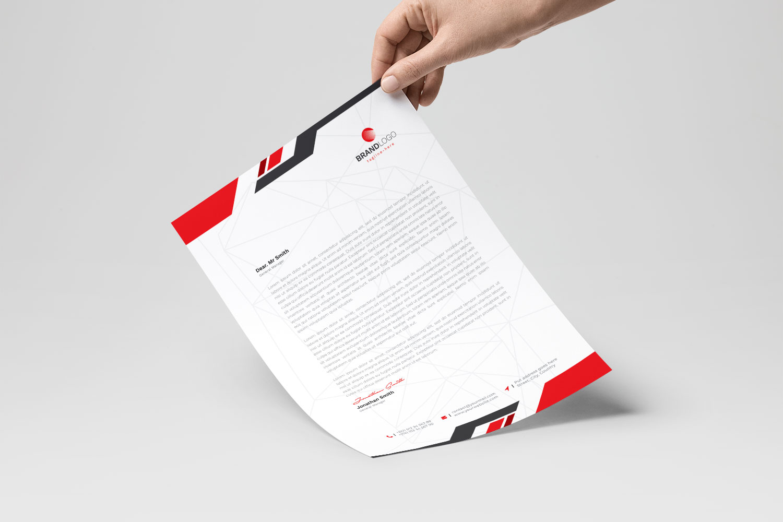 Letterhead example image 2