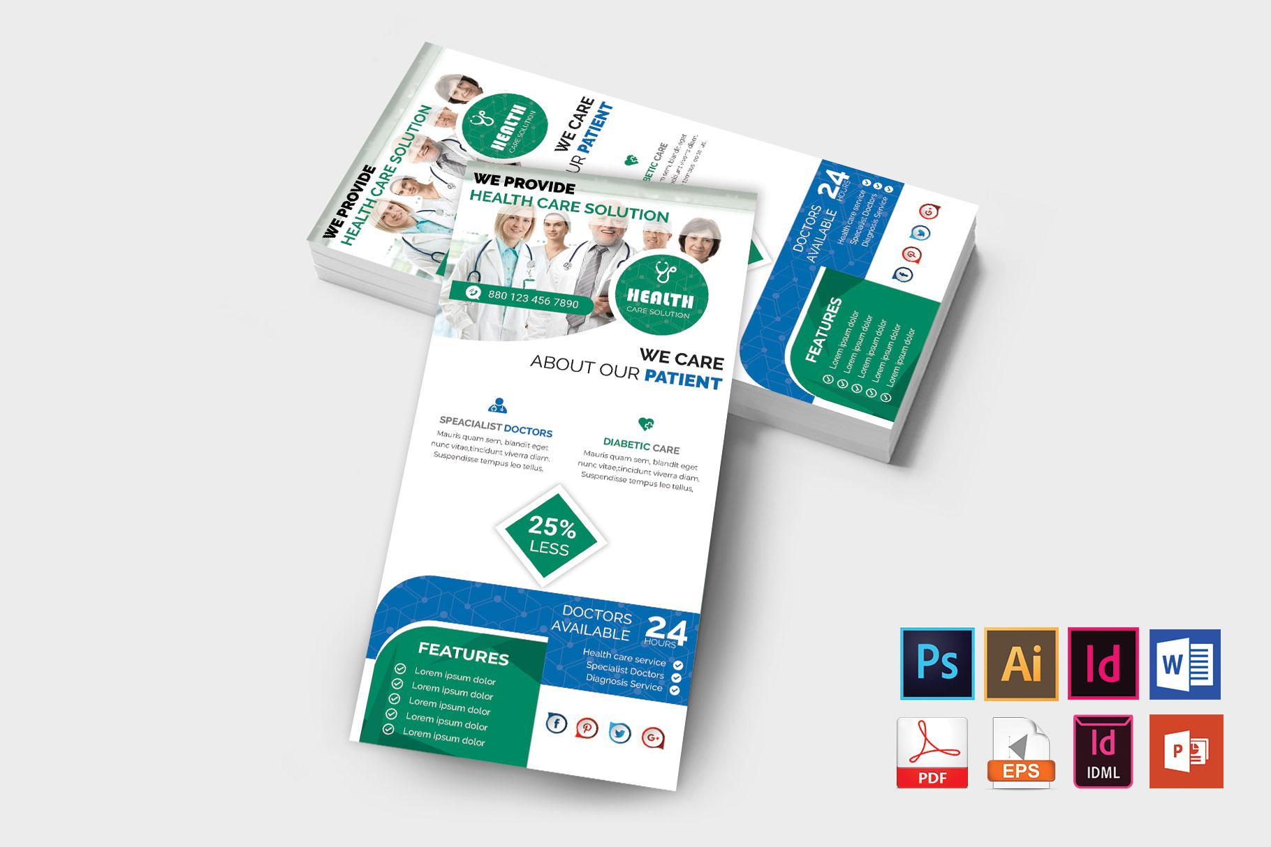 Rack Card | Doctor DL Flyer Vol-01 example image 1