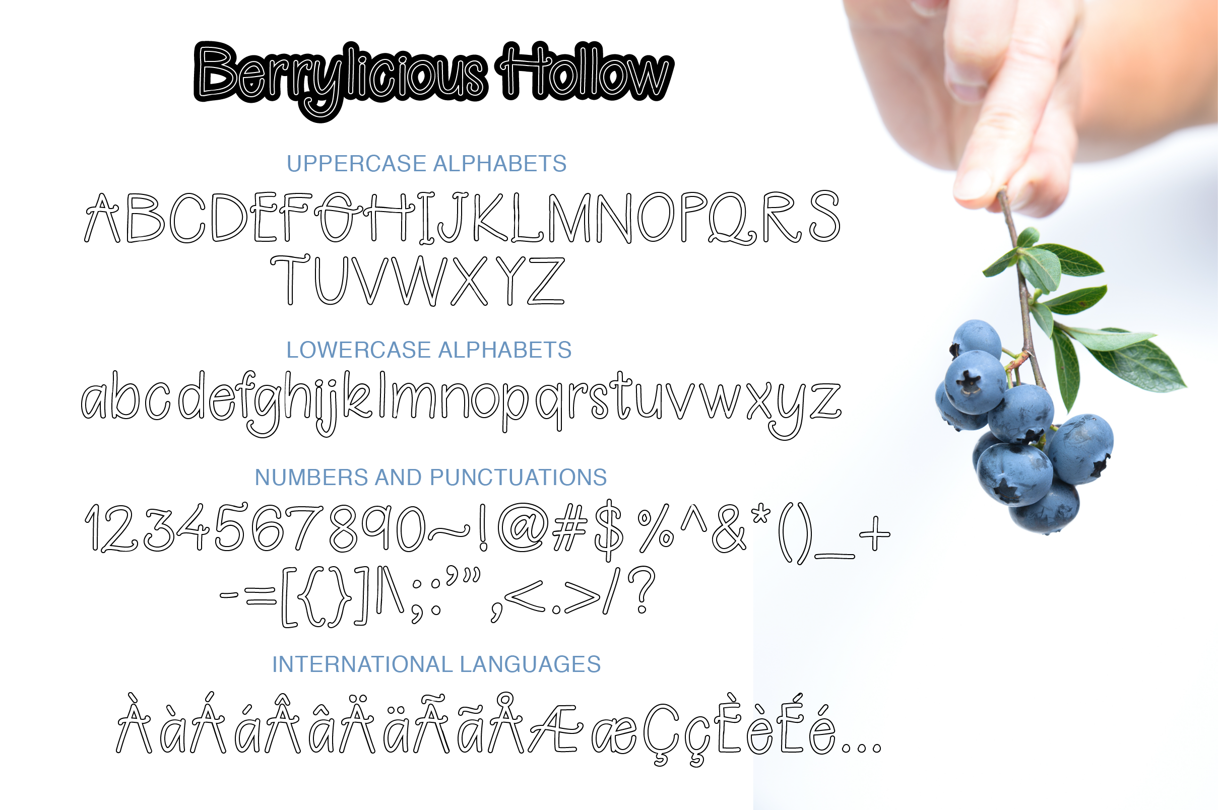 Berrylicious Font example image 3