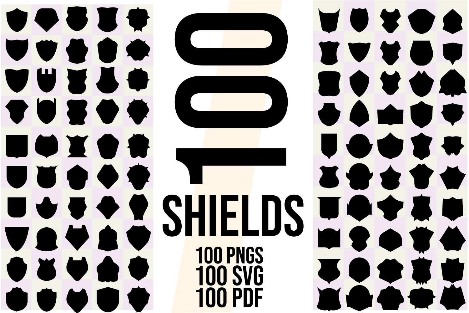 200 Shields and Frames SVG, AI, EPS, PDF, PNG example image 2