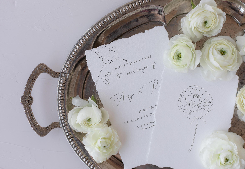 Fine Art Florals - Pencil Sketches example image 3