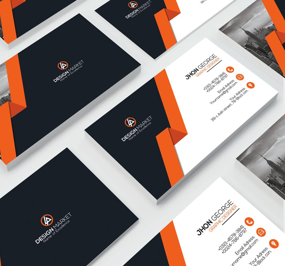 Stylish Business Cards example image 3