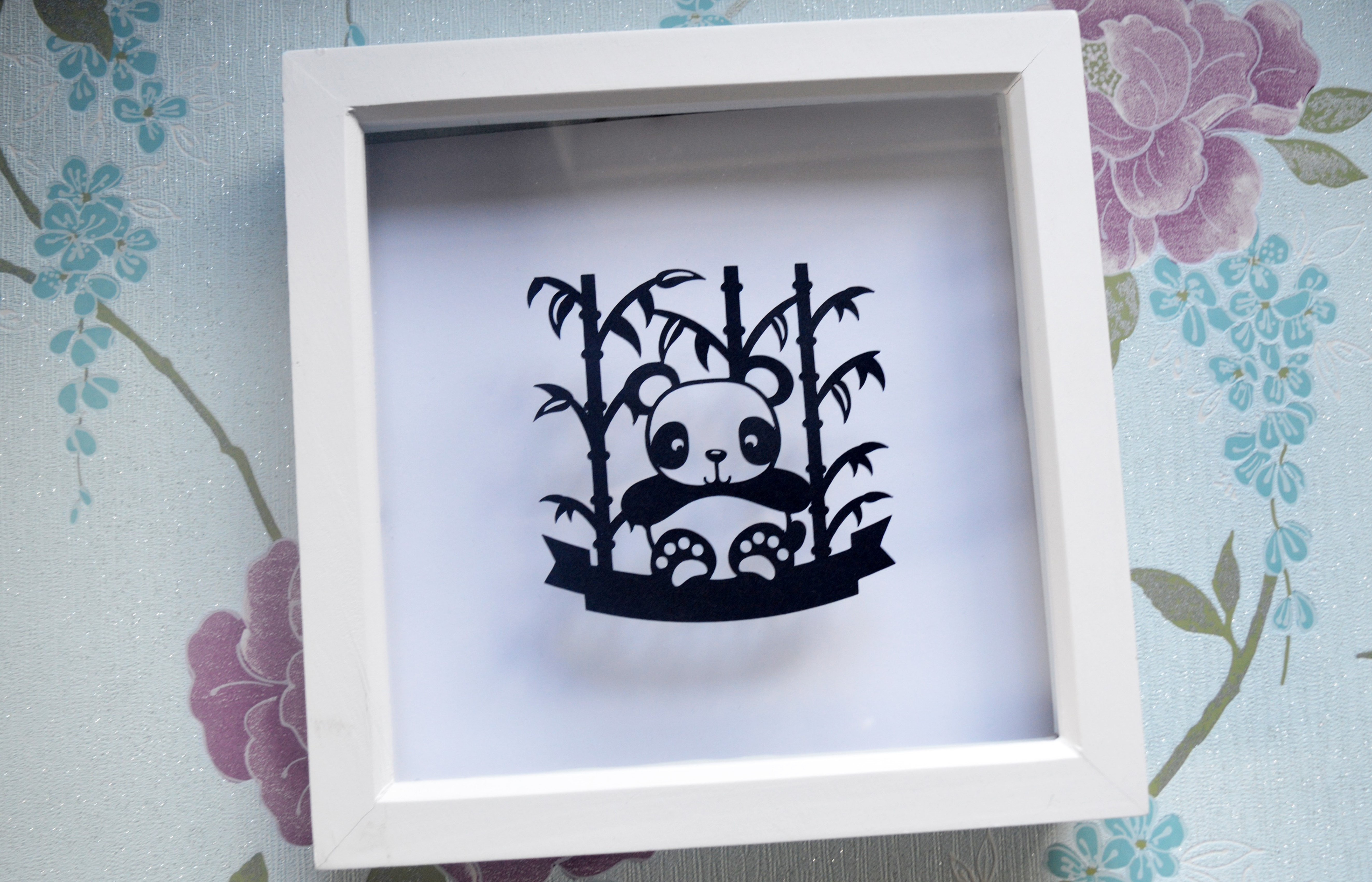 3 Panda Paper Cut SVG / DXF / EPS Files example image 4