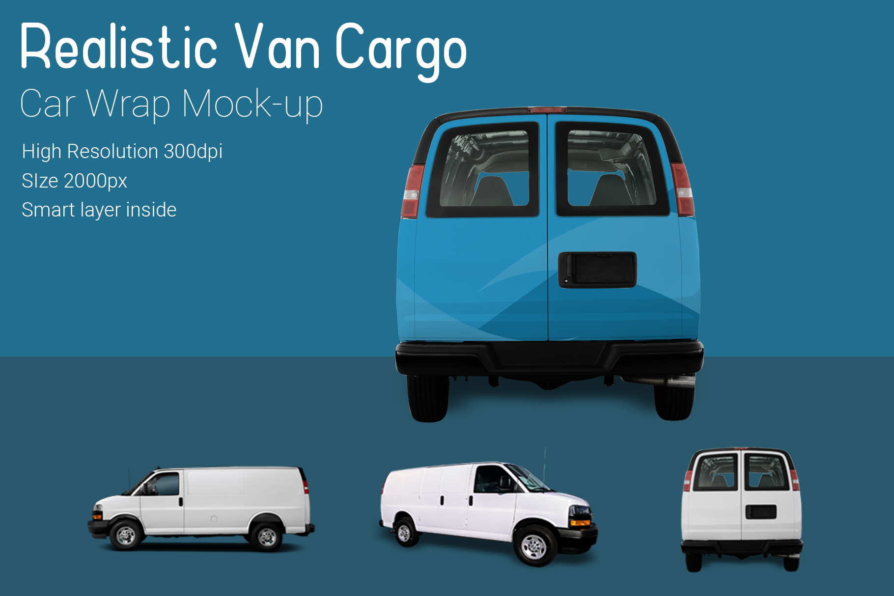 Van Mock-Up example image 3