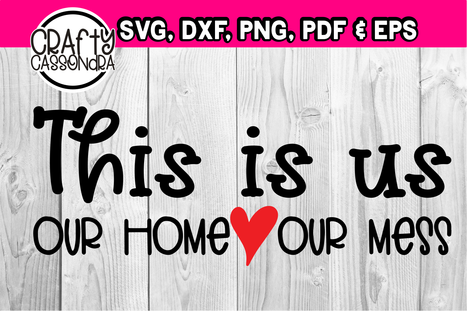 This is us. Our home. Our mess example image 2