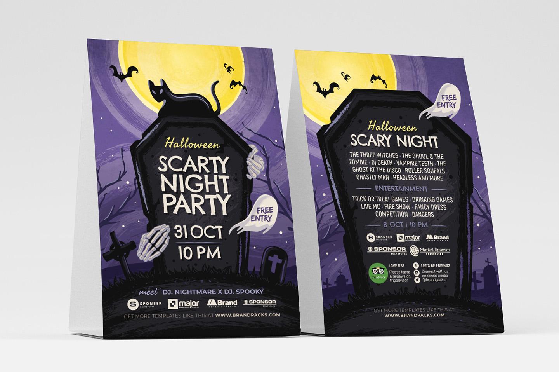 Halloween Flyer Template example image 3