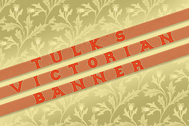 Tulk's Victorian Banner example image 2