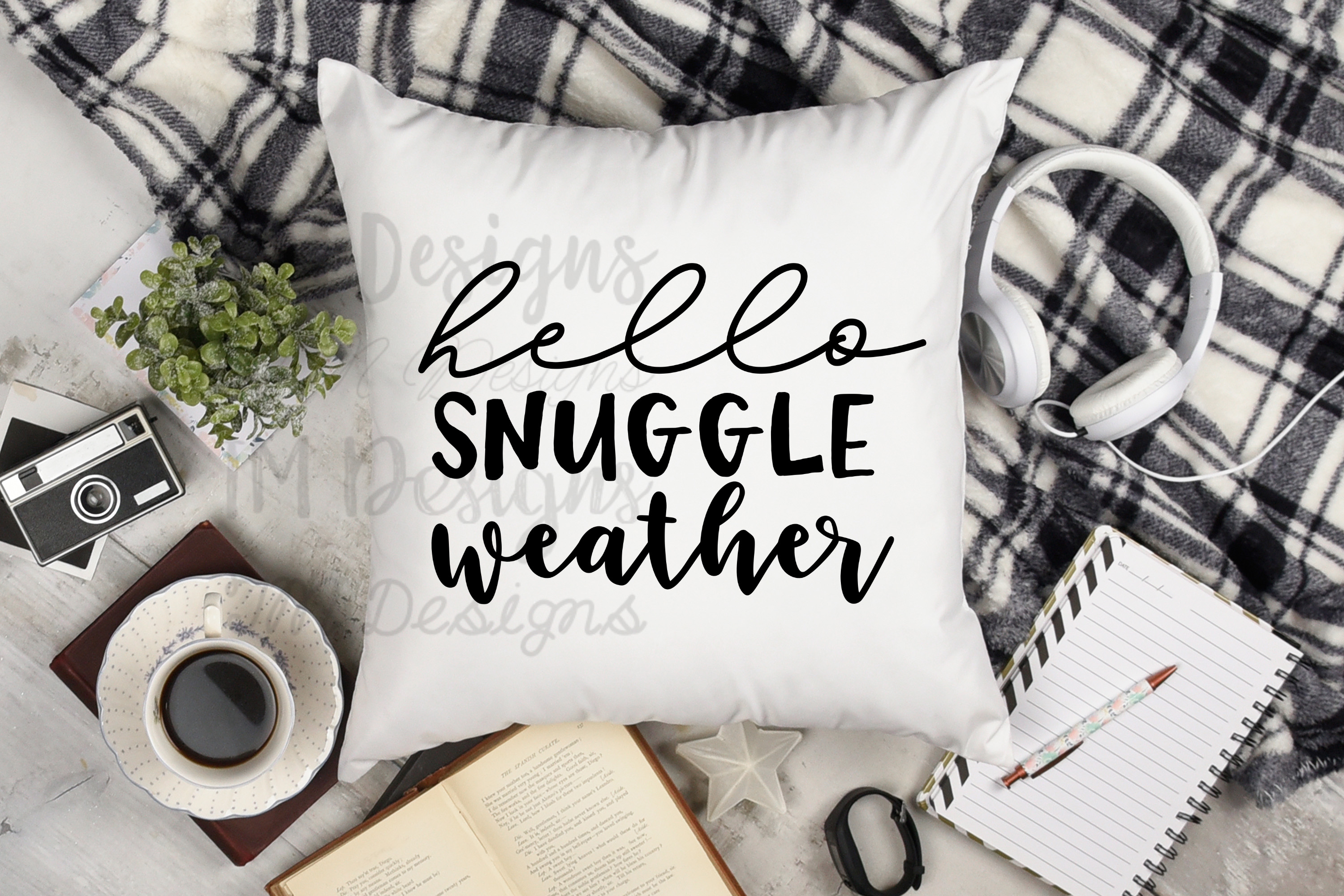Hello Snuggle Weather SVG example image 1