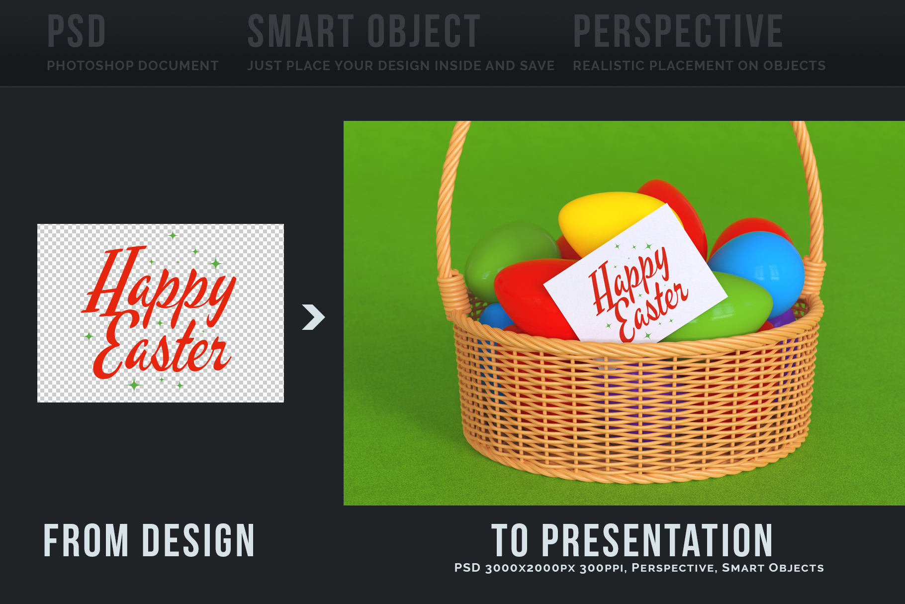 Easter Egg Mockups and Images example image 8