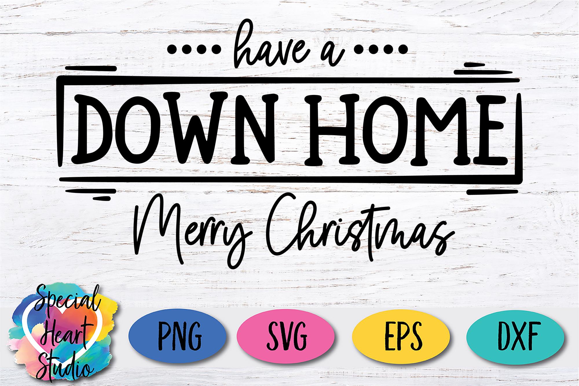 Down Home Christmas - A Christmas SVG Cut File example image 2