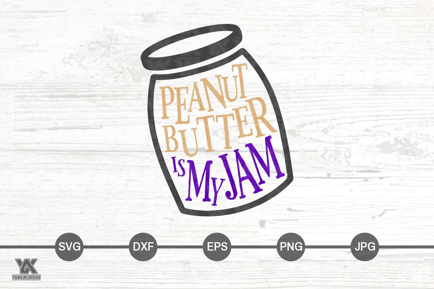Peanut Butter is My Jam SVG example image 3