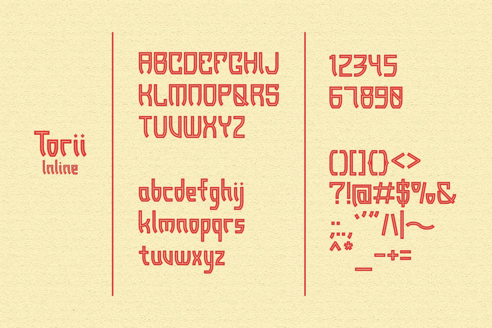 Torii - Japanese Style Typeface example image 5