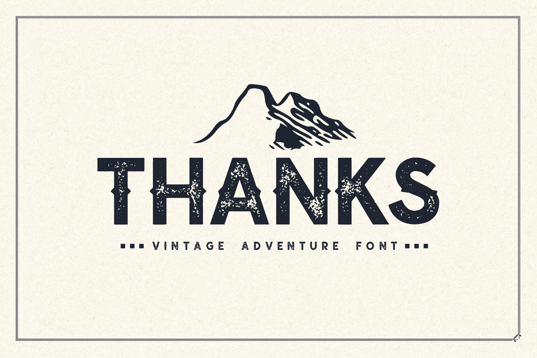 Nuevo - Vintage Adventure Font example image 7