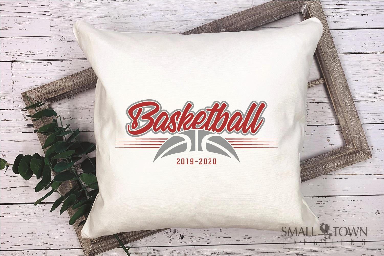 Basketball, Sports ball, sport team logo, PRINT, CUT, DESIGN example image 3