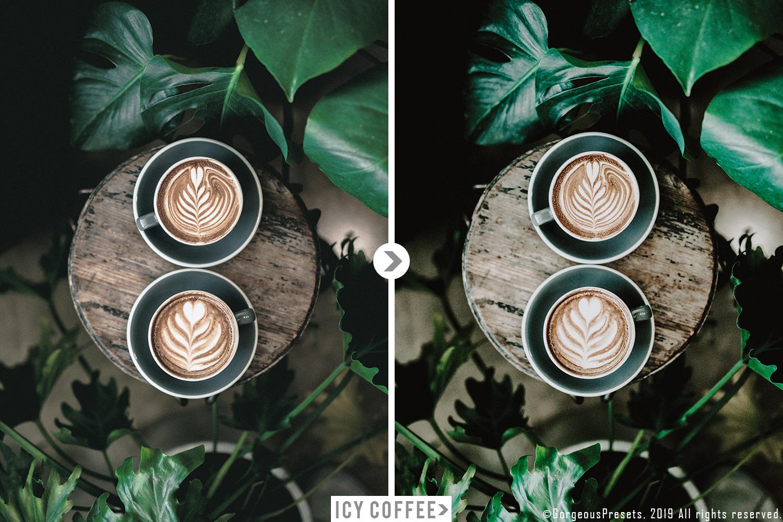 Mobile Lightroom Preset ICY COFFEE example image 9