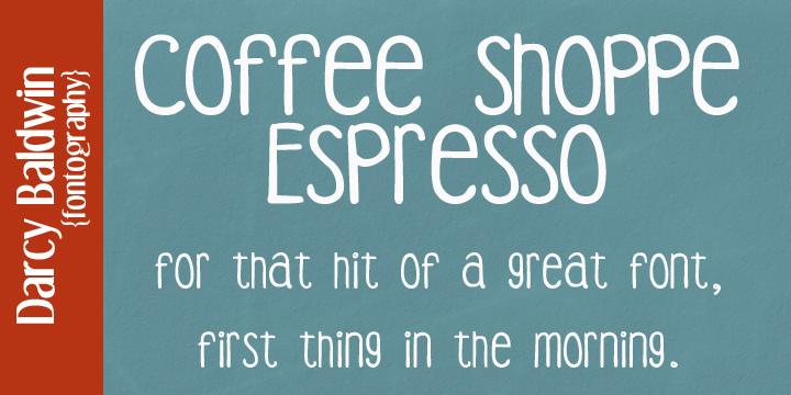 DJB Coffee Shoppe Font Bundle example image 7