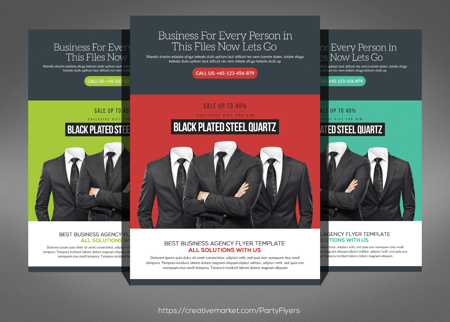 Best Business Flyers Bundle example image 2
