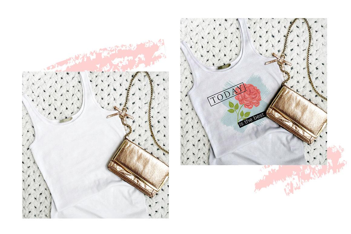 Women T-shirt mockups example image 5