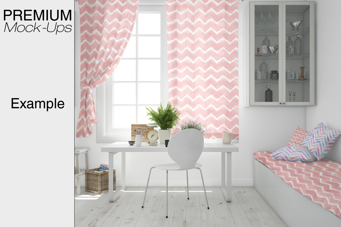 Pillows & Curtains Set - Kitchen example image 6