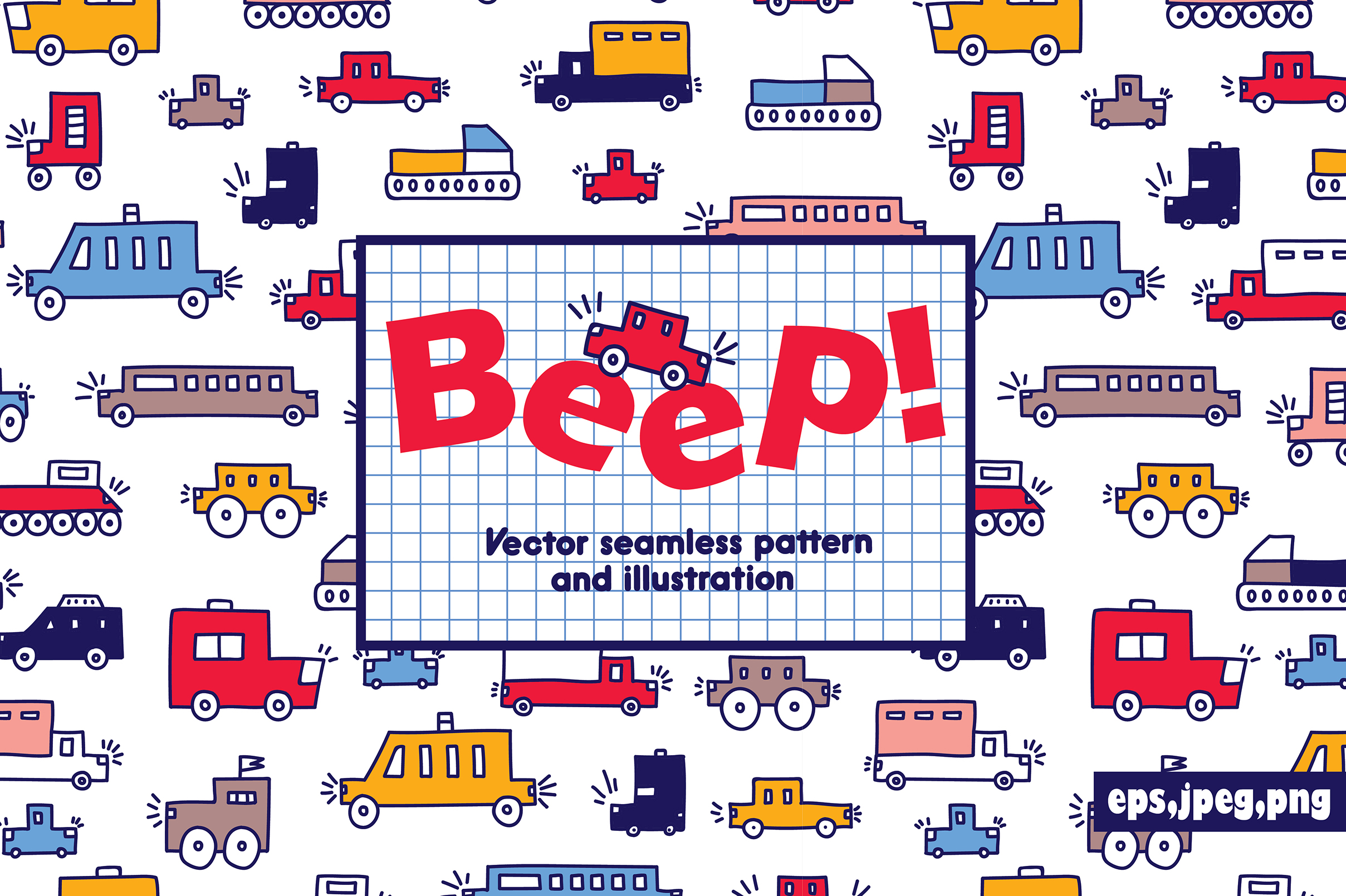 Beep! Cars for boys! example image 1