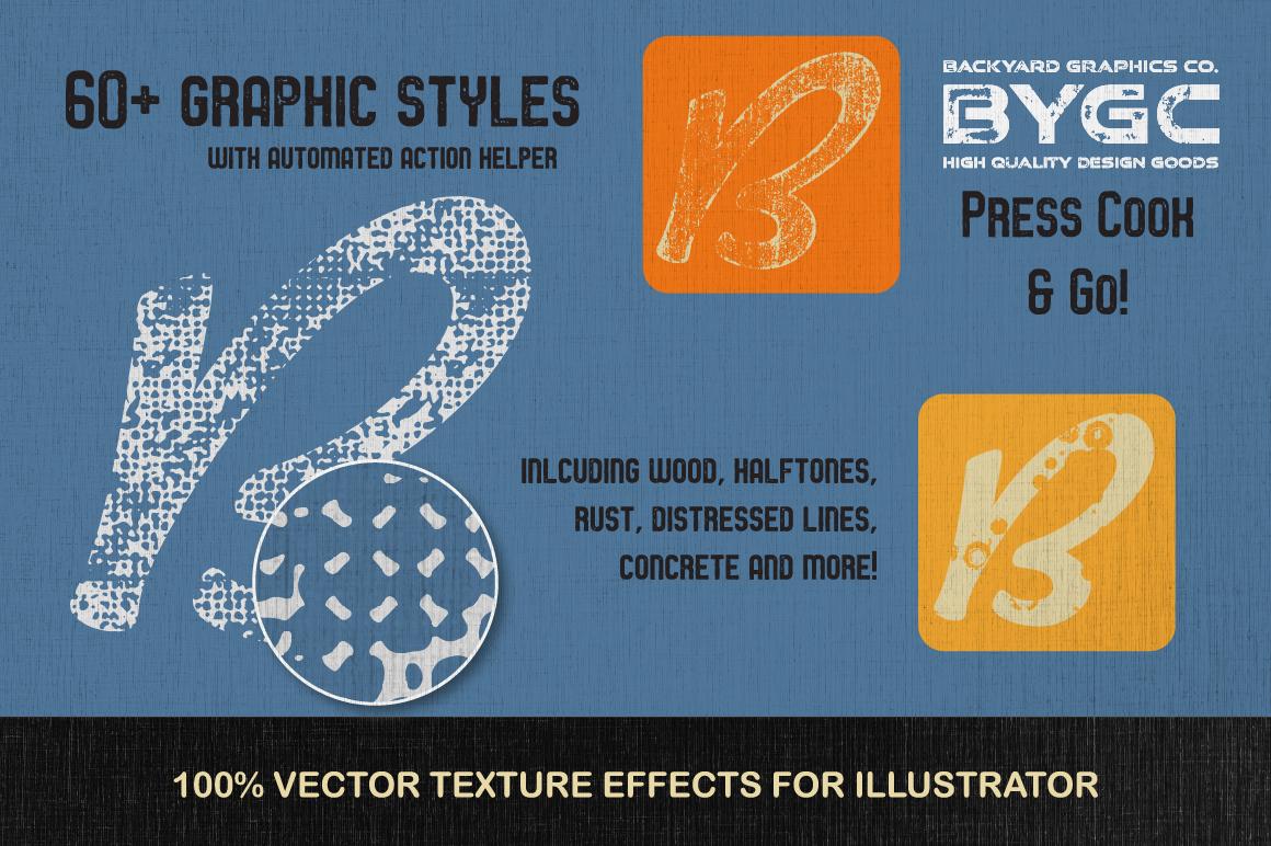 Letterpress Vector Textures example image 2