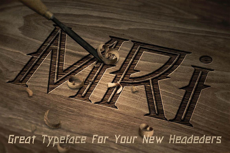 Minoru Font example image 4