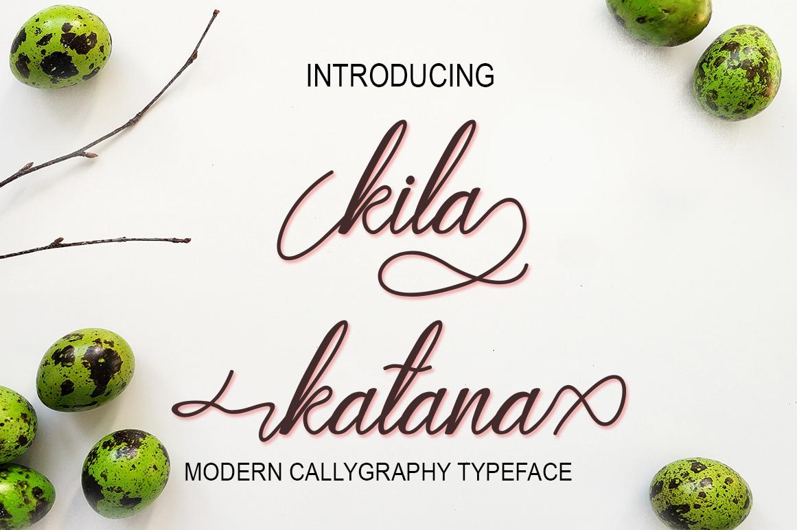 Kila katana example image 1
