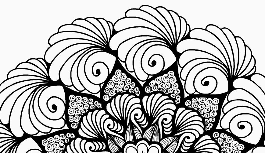 Hand drawn mandala set example image 3
