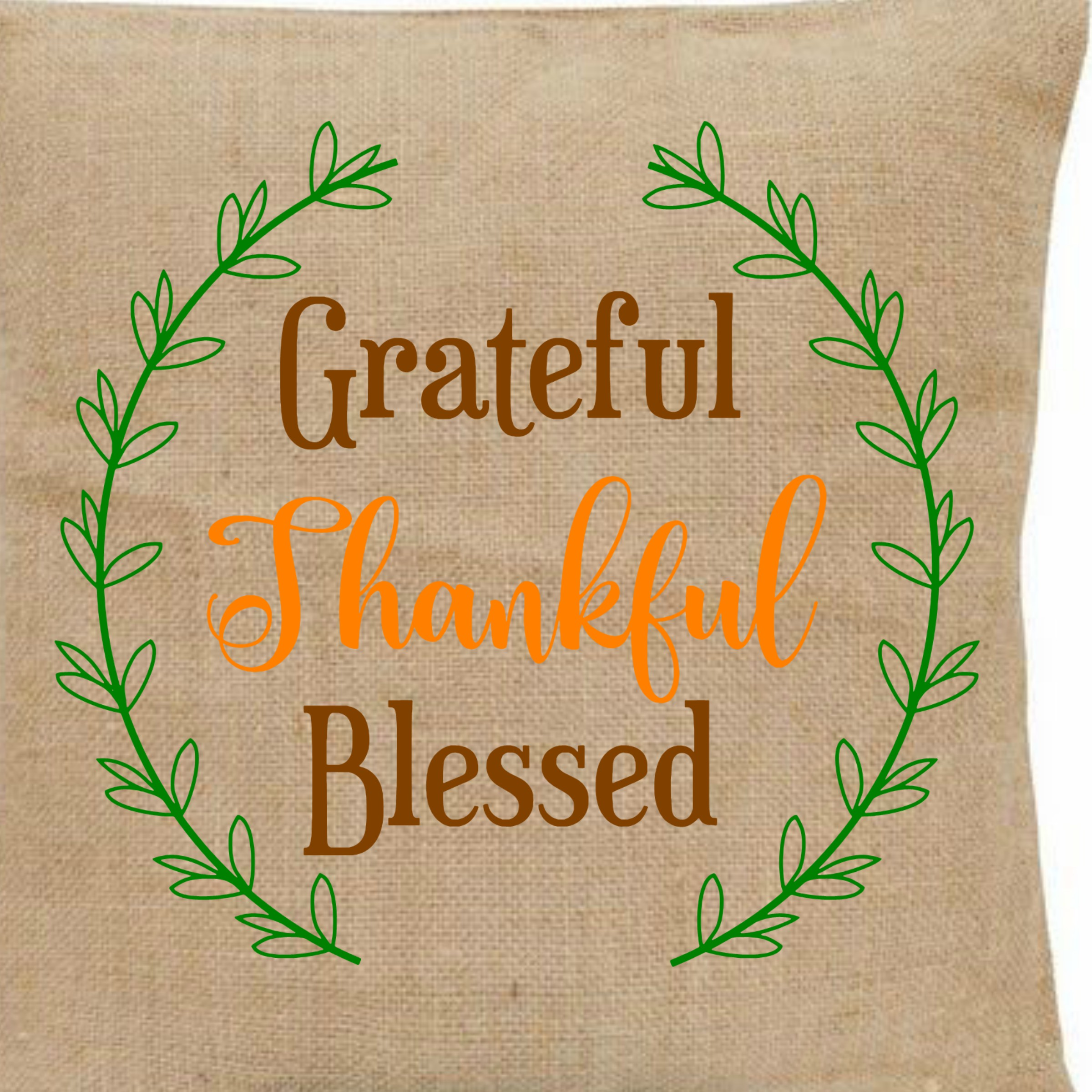 Grateful, Thankful, Blessed Printable with BONUS SVG file example image 5