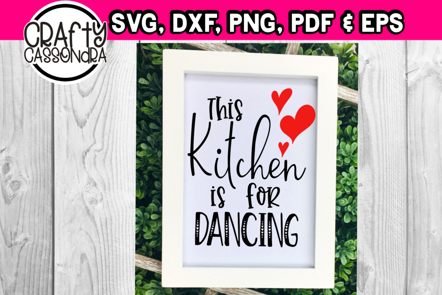 This kitchen is for dancing example image 1