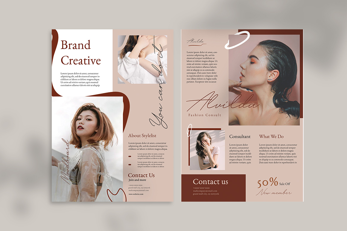 Neutral Flyer Templates example image 3