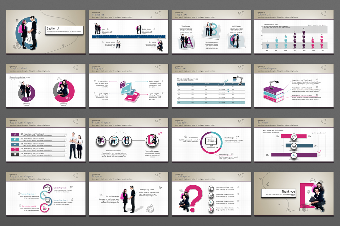 School PowerPoint Template example image 4