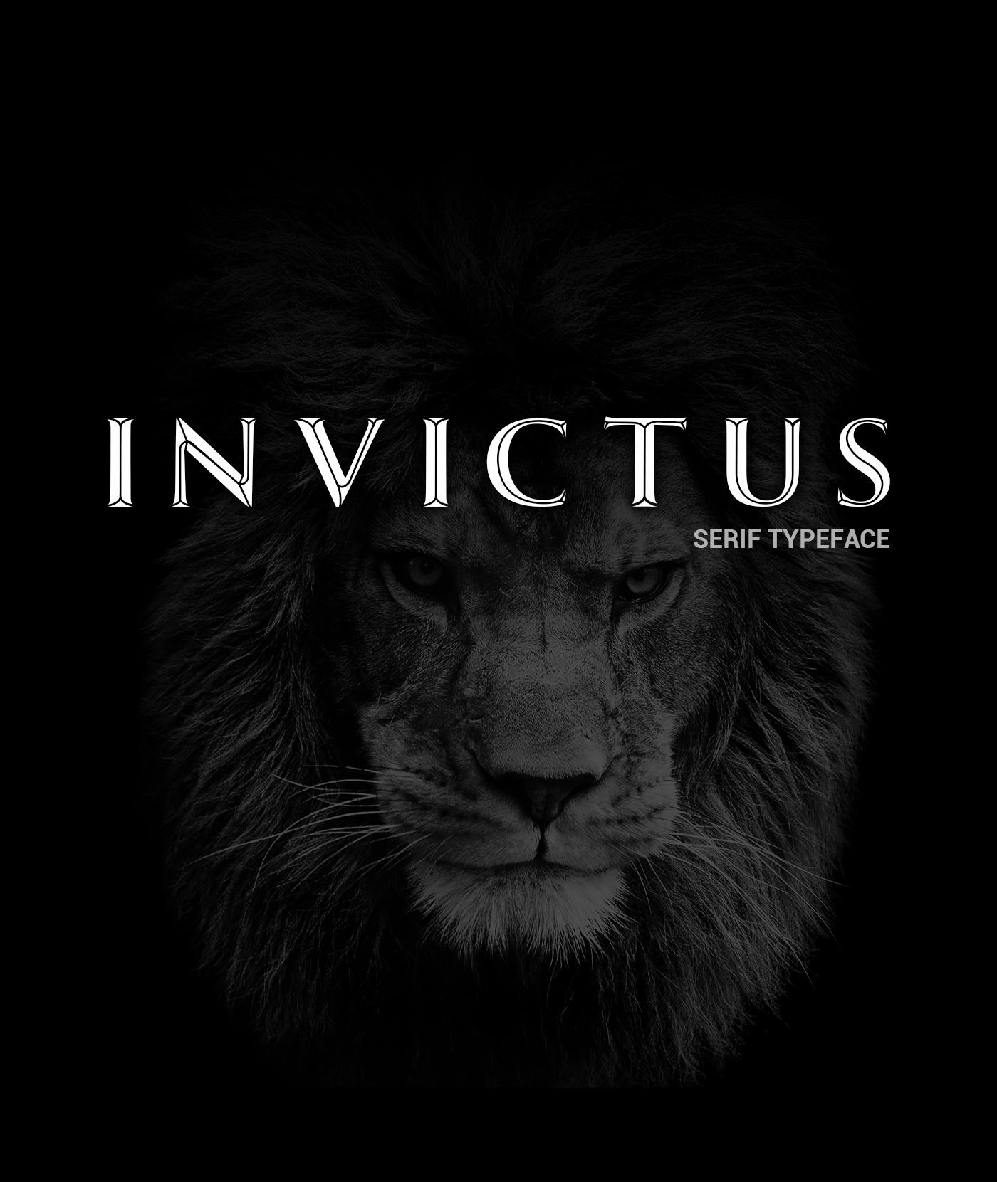 Invictus Serif Typeface example image 9