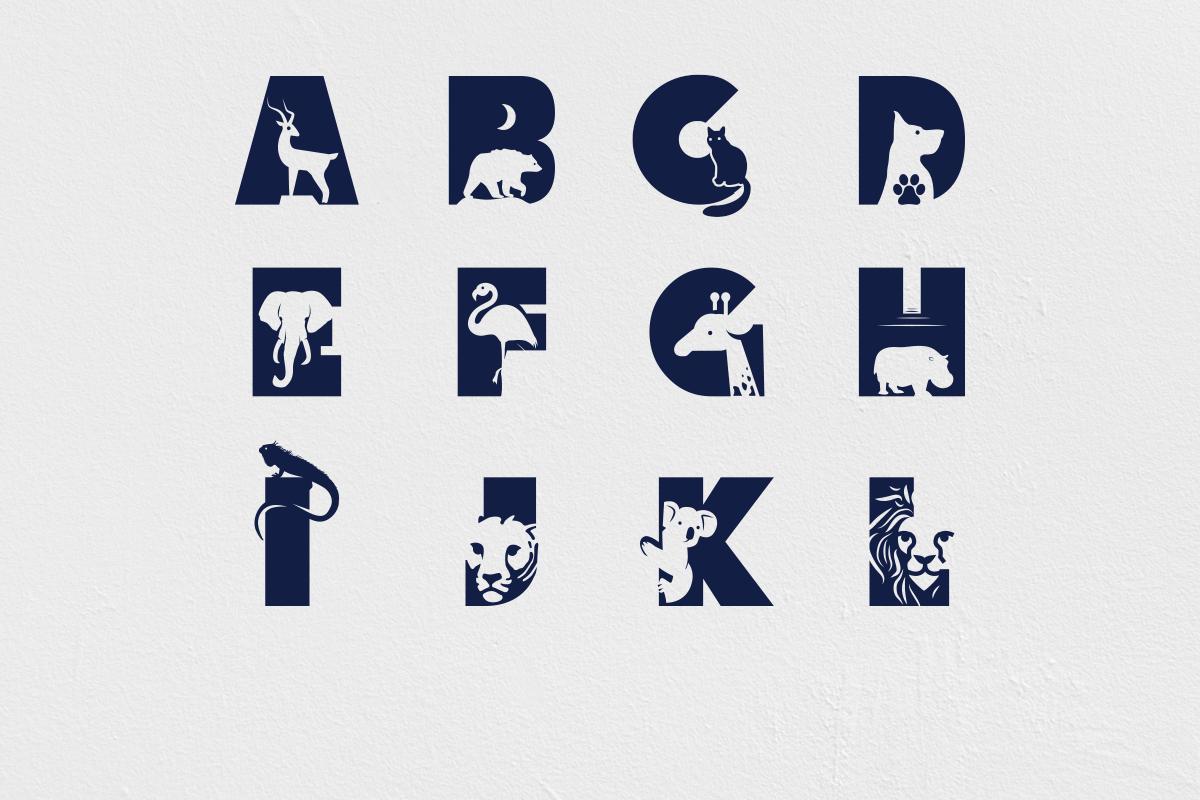 Animal Kingdom Craft Font   Wild Animals Font example image 6