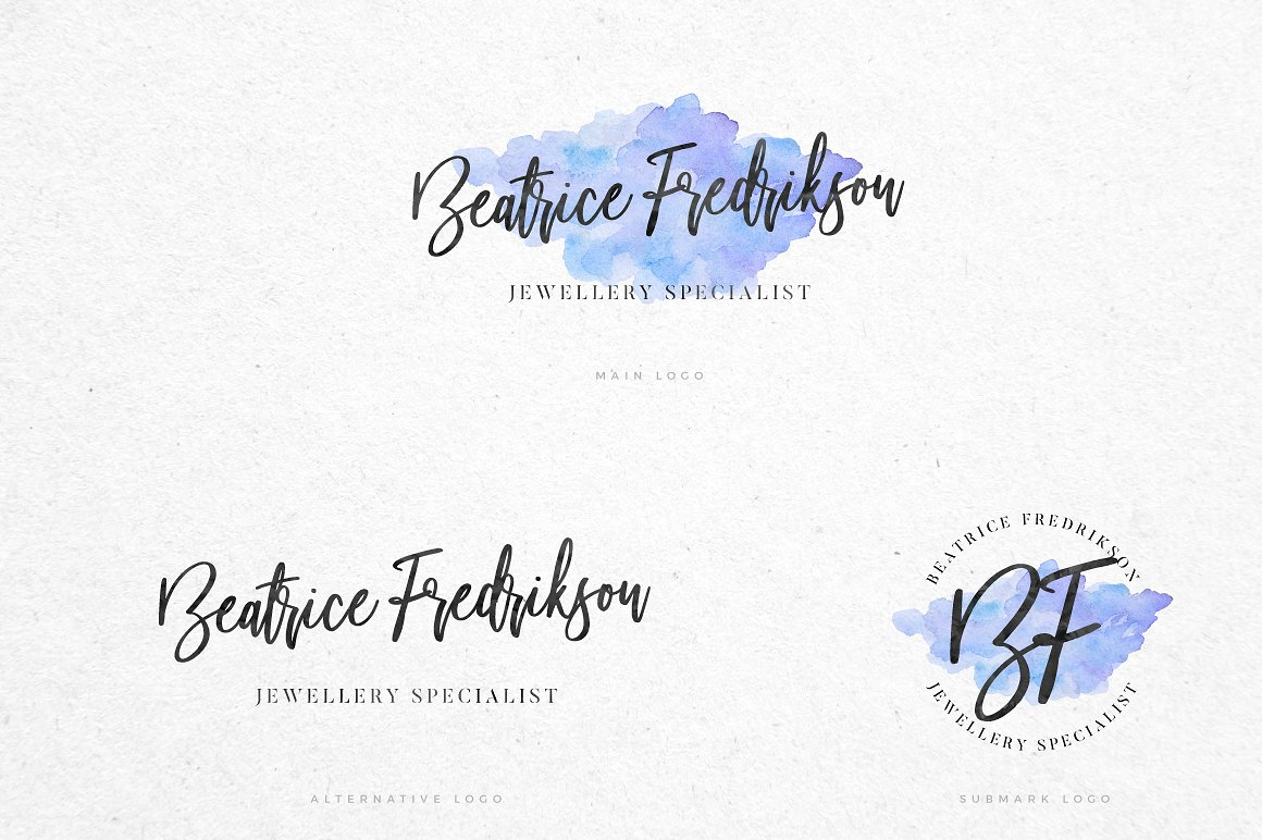Beautiful Bloom Typeface example image 3