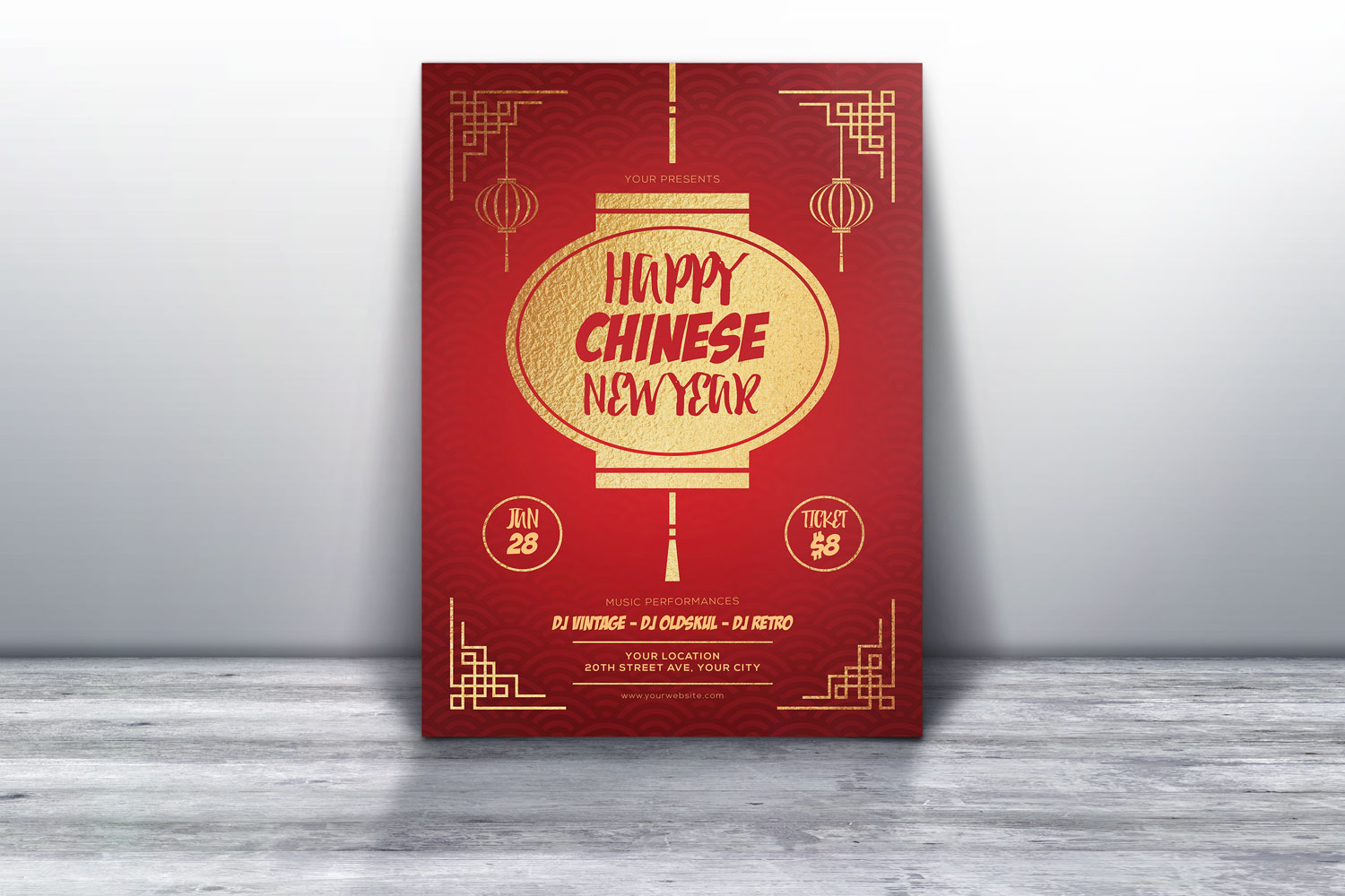 Chinese New Year Flyers example image 3