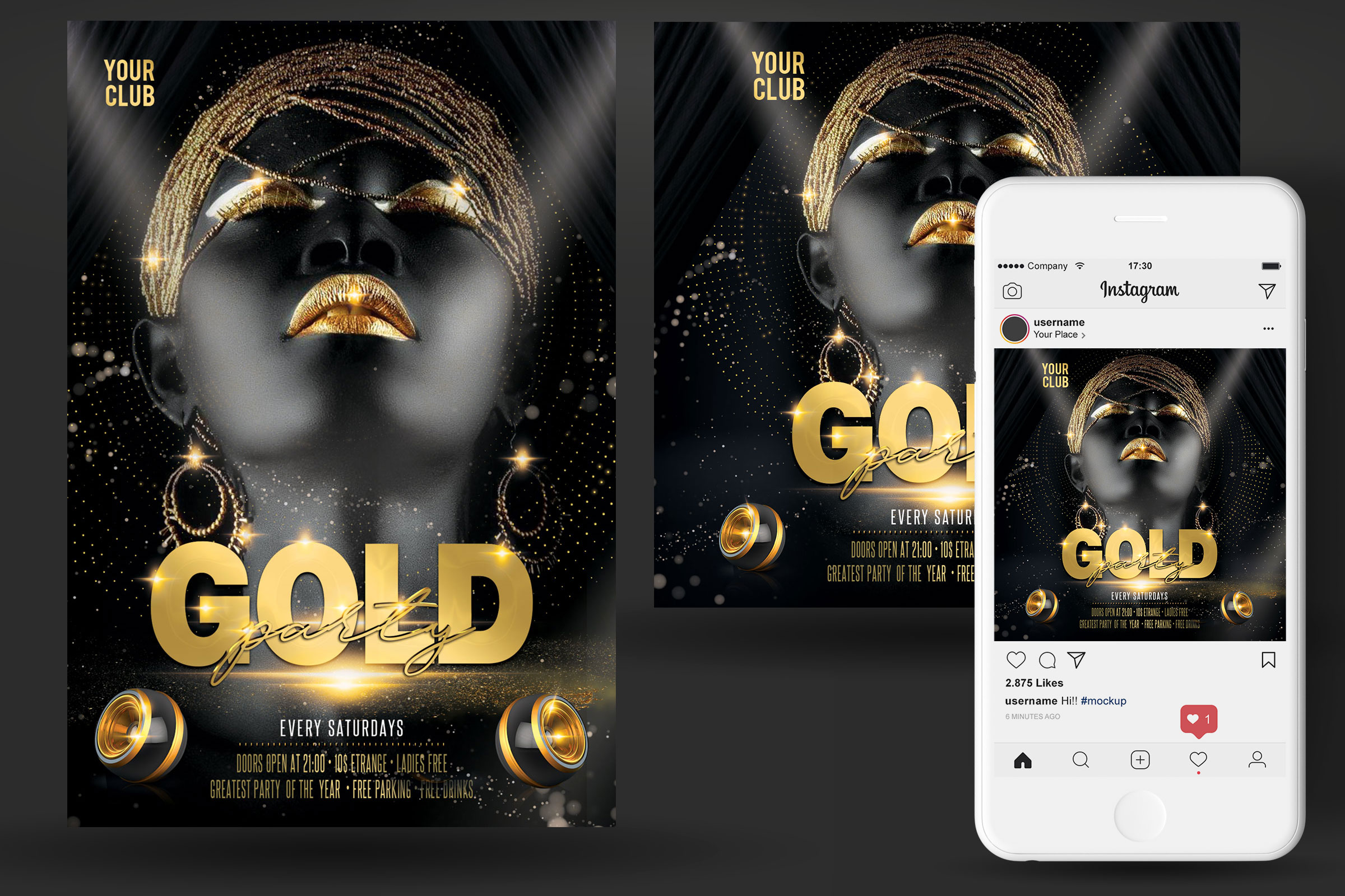 Gold Flyer example image 2