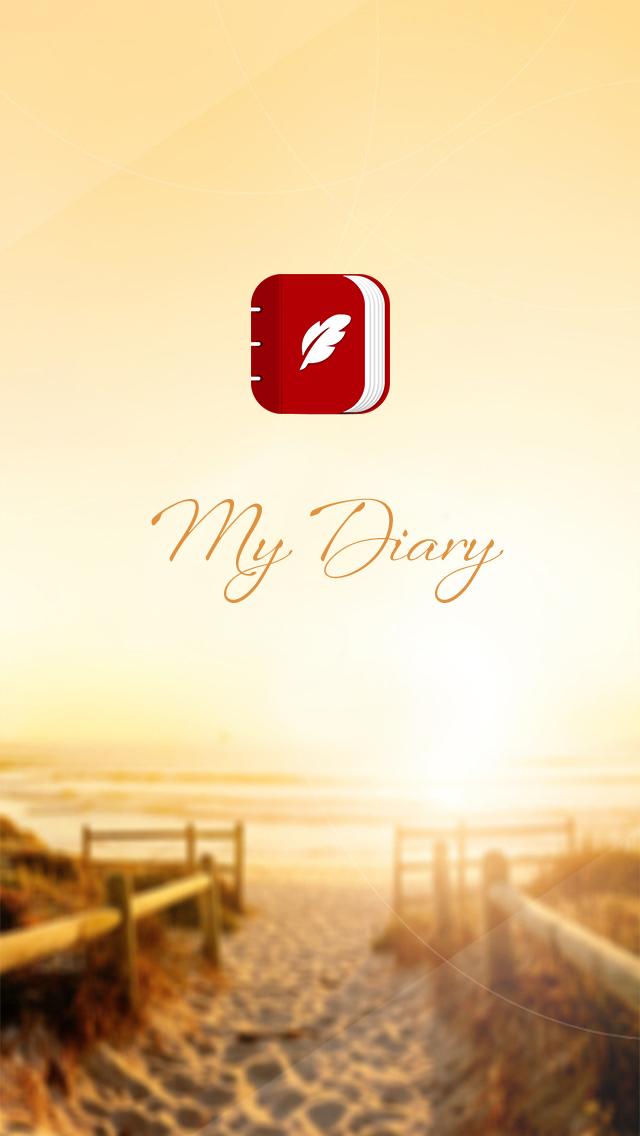 My Diary - UI Mobile Kit example image 2
