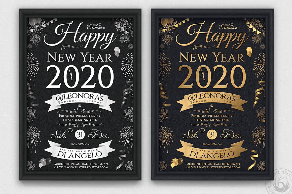 10 New Year Flyer Bundle example image 5