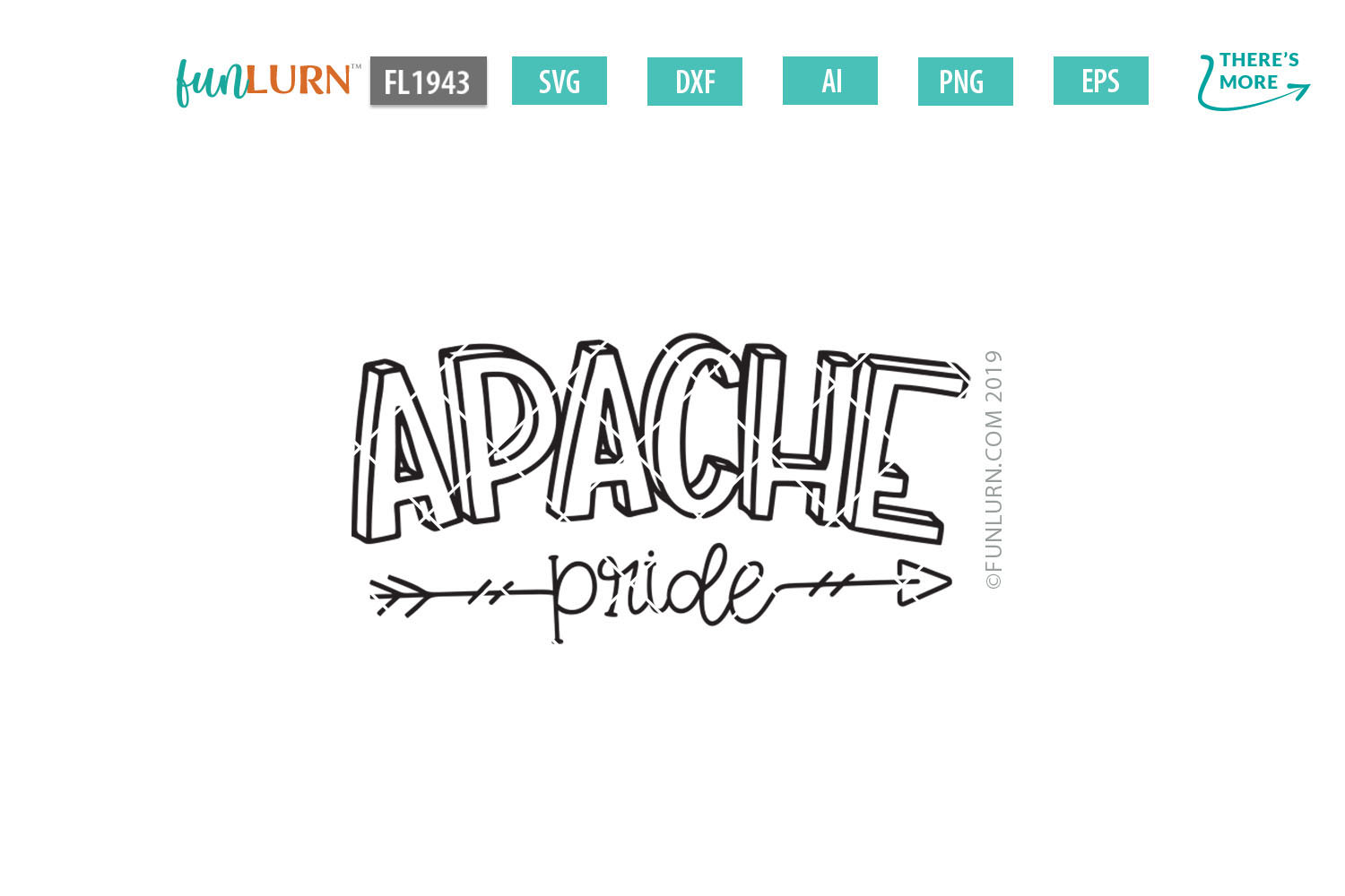 Apache Pride Team SVG Cut File example image 2