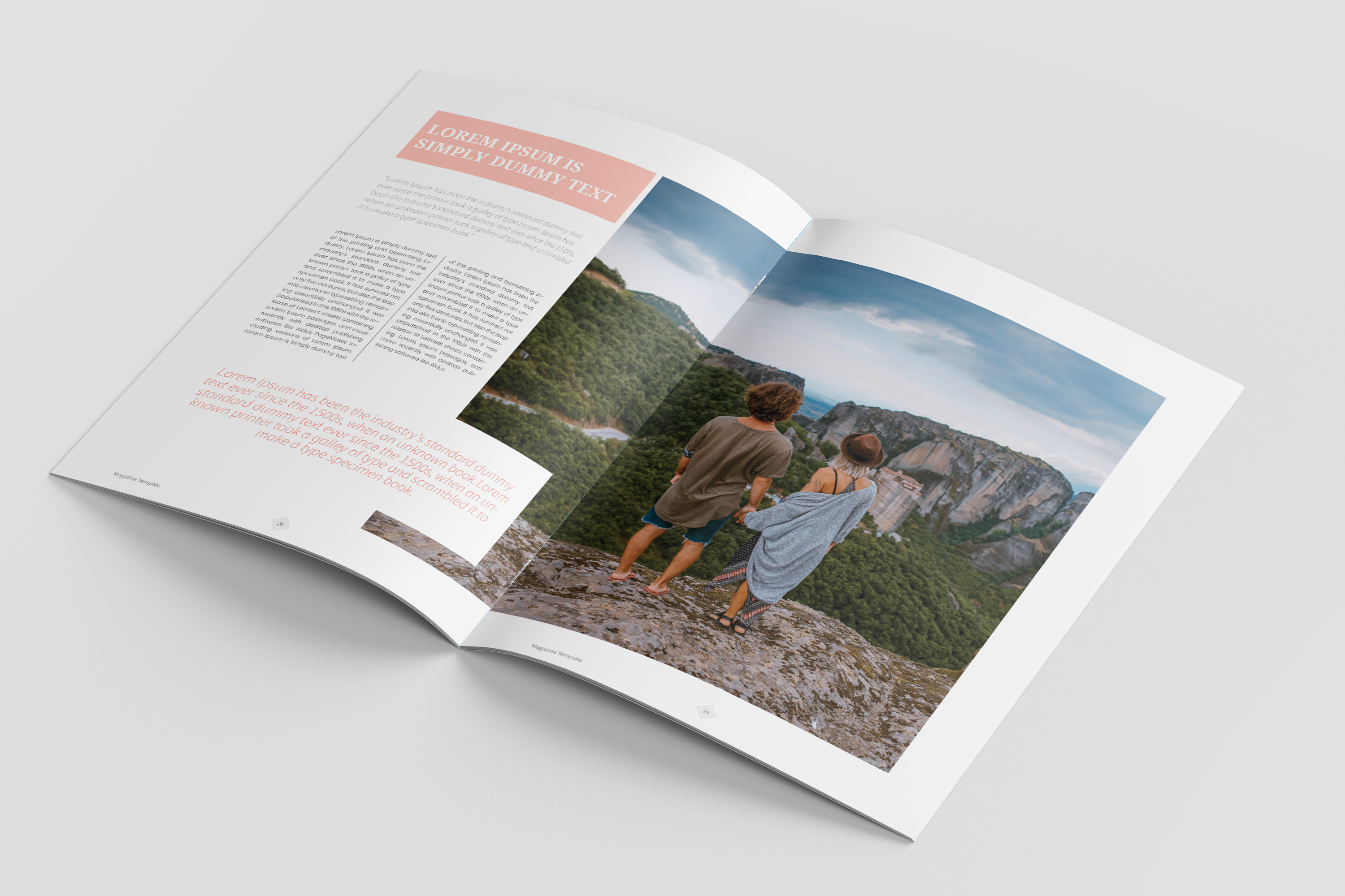 Travel Magazine Template example image 8