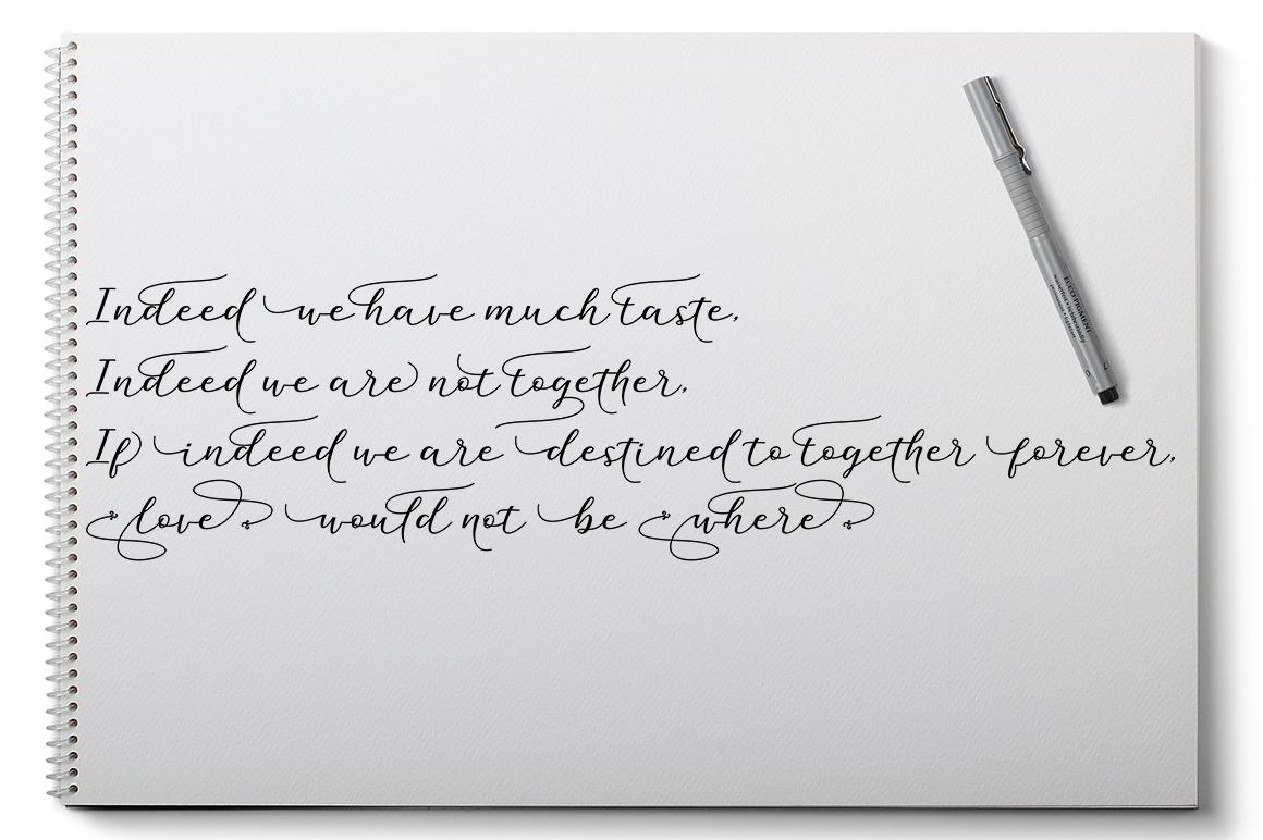 Mithana Font Duo example image 4