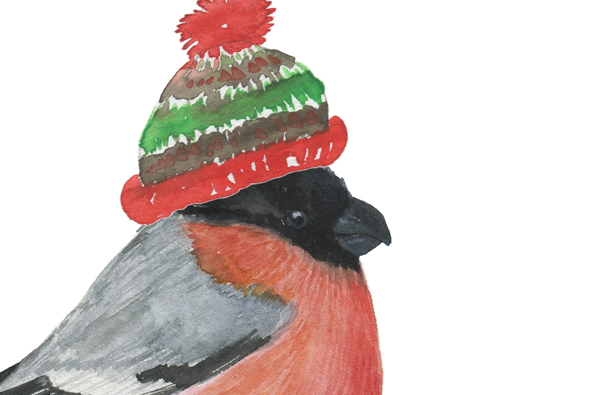 Winter animals example image 4